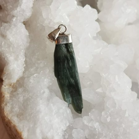 HQ Seraphinite Healing Crystal by Mark Bajerski