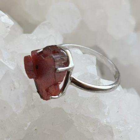 HQ Vanadinite Ring by Mark Bajerski