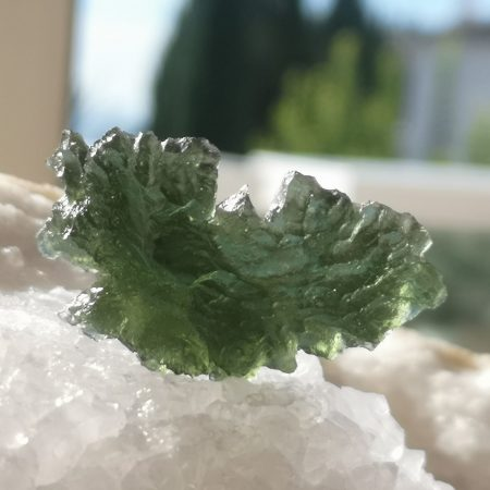 HQ Besednice Moldavite AAA Museum Grade Rare Specimen Mark Bajerski 8.50 grams