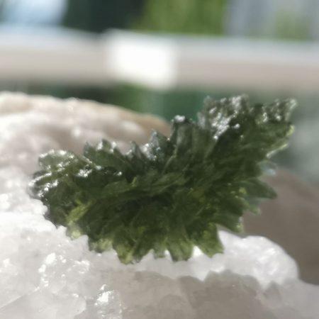 HQ Besednice Moldavite AAA Museum Grade Rare Specimen Mark Bajerski 7.40 grams