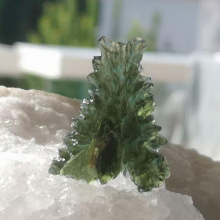 HQ Besednice Moldavite AAA Museum Grade Rare Specimen Mark Bajerski 6.05 grams