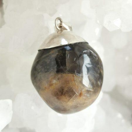 HQ Black Moonstone Healing Crystal by Mark Bajerski