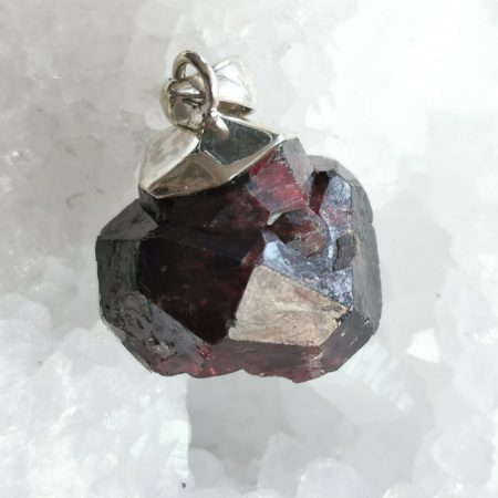 HQ Ruby Garnet Healing Crystal by Mark Bajerski