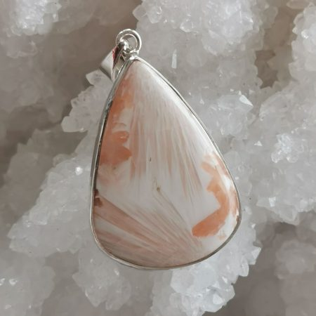 HQ Pink Scolecite Healing Crystal