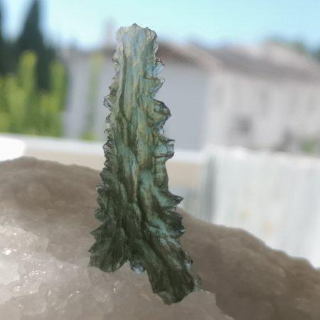 Moldavite Besednice Museum Grade AAA 4.79 grams