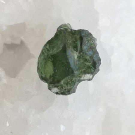 Maly Chlum Moldavite Slice Grade AA Mark Bajerski 1.45 grams