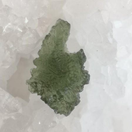 Maly Chlum Moldavite Slice Grade AA Mark Bajerski 1.12 grams