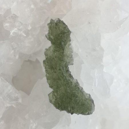 Maly Chlum Moldavite Slice Grade AA Mark Bajerski