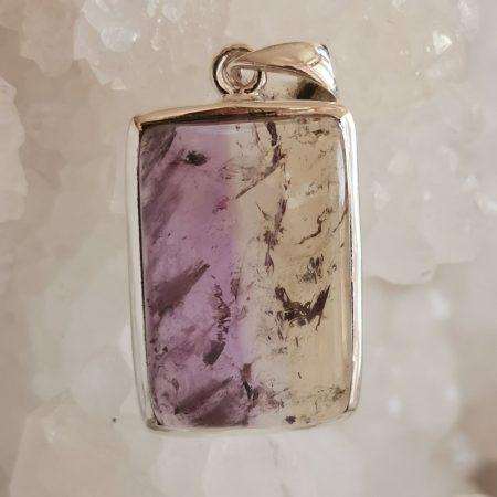 HQ Ametrine Healing Crystal pendant