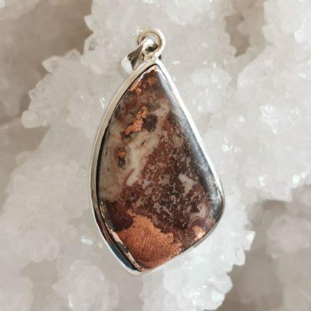 HQ Copper Agate Healing Crystal by Mark Bajerski