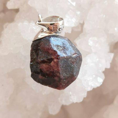 HQ Ruby Garnet Crystal by Mark Bajerski