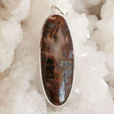 HQ Seam Agate Healing Crystal