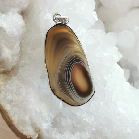 Large HQ Botswana Agate Healing Crystal by Mark Bajerski