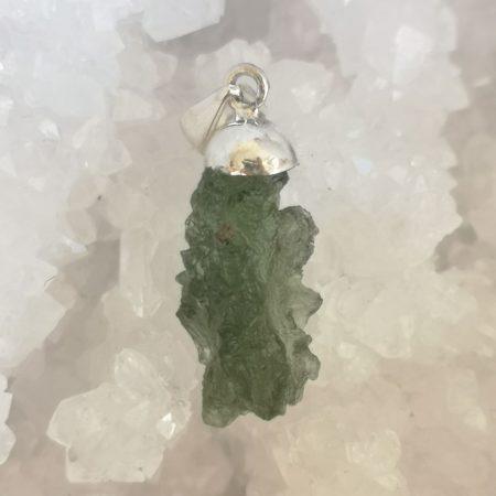 HQ Moldavite pendant from Besednice by Mark Bajerski