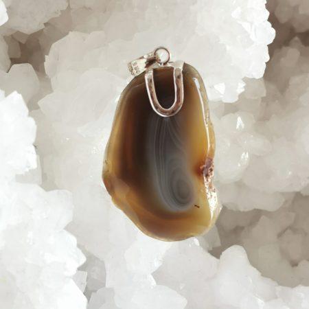 HQ Botswana Agate Healing Crystal by Mark Bajerski