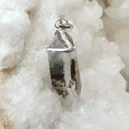 HQ Chlorite incl. Quartz Healing Crystal by Mark Bajerski