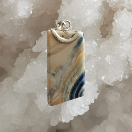 HQ Lapis Lace Healing Crystal by Mark Bajerski