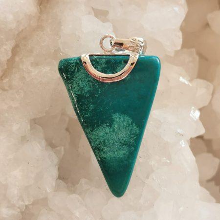 HQ Shattuckite Healing Crystal Pendant by Mark Bajerski