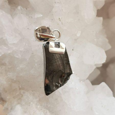 HQ Shungite Healing Crystal Pendant by Mark Bajerski