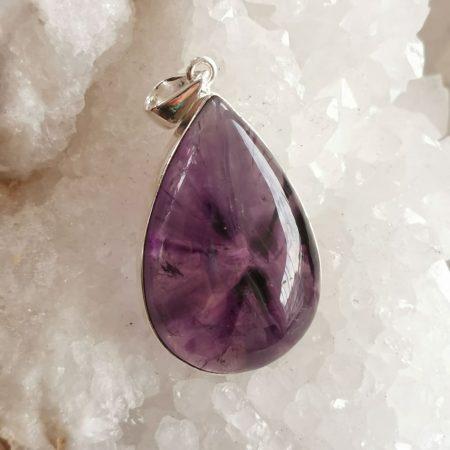 HQ Amethyst Healing Crystal by Mark Bajerski