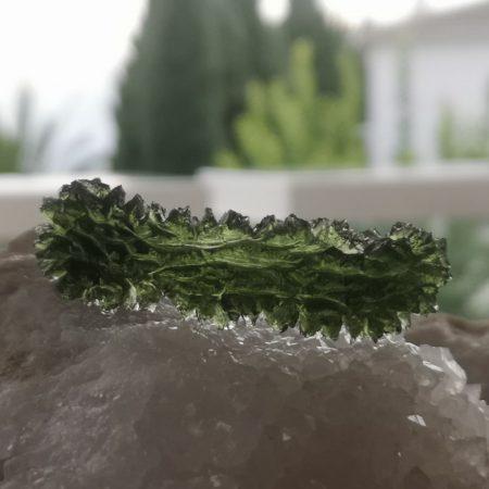 Besednice Moldavite Museum Grade AAA 11.91 grams