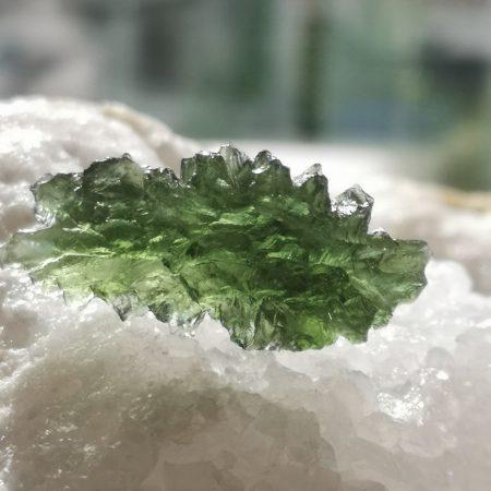 Besednice Moldavite Museum Grade AAA 7.18 grams