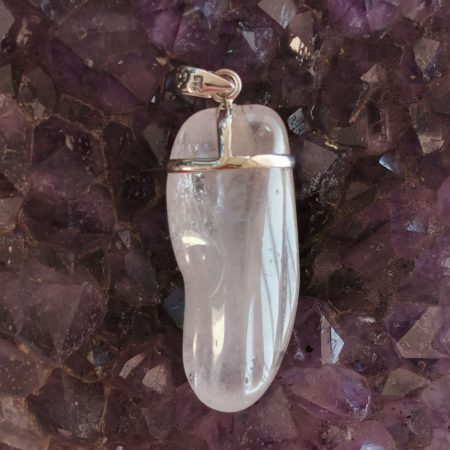 HQ Rose Quartz Healing Crystal by Mark Bajerski