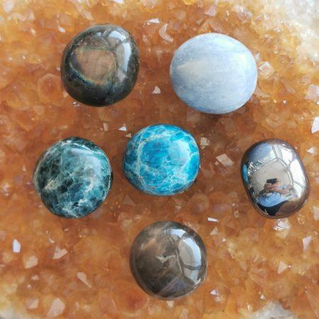 6 Healing Crystal Spheres