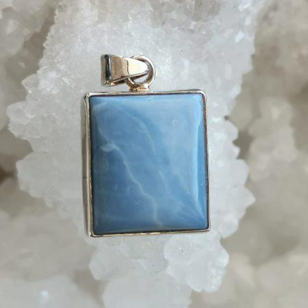 HQ Blue Opal Healing Crystal by Mark Bajerski