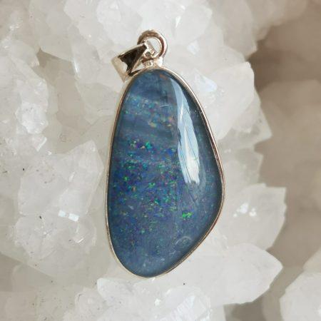 HQ Opal Triplet Healing Crystal Pendant by Mark Bajerski