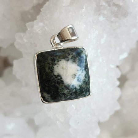 HQ Preseli Healing Crystal Pendant by Mark Bajerski