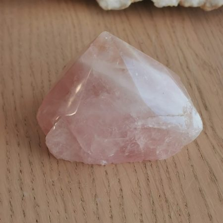 HQ Rose Quartz Pointer Healing Crystal by Mark Bajerski