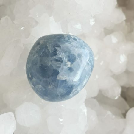 HQ Blue Calcite Healing Crystal Sphere
