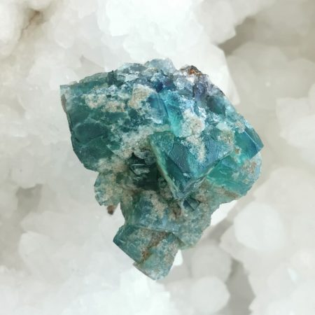 HQ Diana Fluorite Holding Crystal